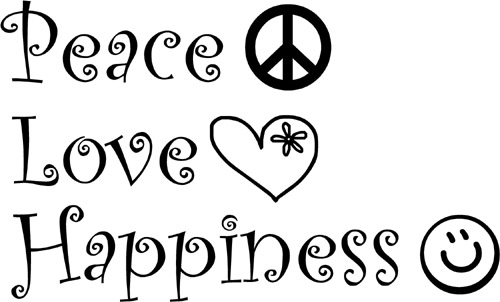 Peaceloveandhappinesspeaceloveandha